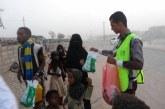 مركز الملك سلمان للإغاثة يواصل توزيع مشروع إفطار الصائم في مأرب