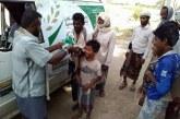 مركز الملك سلمان للإغاثة يواصل توزيع مشروع إفطار الصائم في محافظة لحج