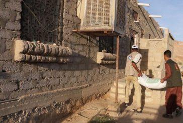 مركز الملك سلمان للإغاثة والأعمال الإنسانية يدشن توزيع 50 ألف سلة بوادي حضرموت