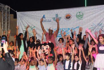 بالصور..ختام فعاليات العيد في محافظة الجبيل