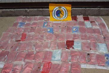 حرس الحدود يحبط تهريب( ٣٢٥.٩٥) كيلو جراماً من مادة الحشيش المخدر برمضان