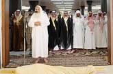 وكيل إمارة القصيم للشؤون الأمنية يؤدي صلاة الميت على شهيد الواجب فيصل العتيبي