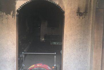 """وفاة ثمانيني وإصابة آخر في حريق منزل بـ """"الجبيل"""""""