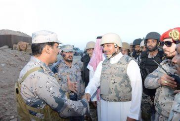 نائب أمير عسير يشارك المرابطين إفطارهم على الحدود الجنوبية بظهران الجنوب