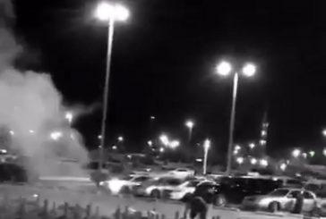 بالفيديو..مصرع مواطن خلال إشعاله الألعاب النارية بالرس