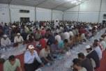 تفطير أكثر من 18 ألف شخص خلال أسبوع في المخيم الرمضاني بالجبيل