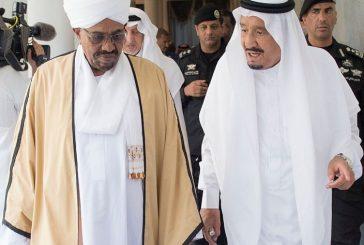 خادم الحرمين يستقبل فخامة الرئيس السوداني