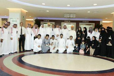 """""""كيان"""" شريك الإحسان في زيارة للمرضى بمجمع الملك عبدالله الطبي في شمال جدة"""
