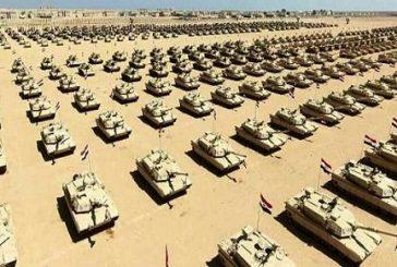 شاهد: افتتاح قاعدة محمد نجيب العسكرية بحضور قادة وزعماء الدول وكان ممثل المملكه الأمير خالد الفيصل