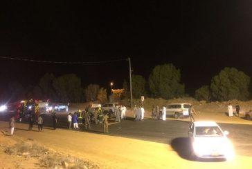 وفاتان و3 إصابات نتيجة تصادم بسكاكا