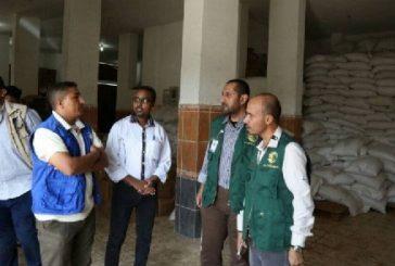 فريق مركز الملك سلمان للإغاثة يتفقد مشاريعه في عدن