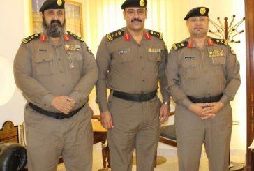 مدير شرطة الباحة يقلد العقيد تركي بن نوار رتبته الجديدة