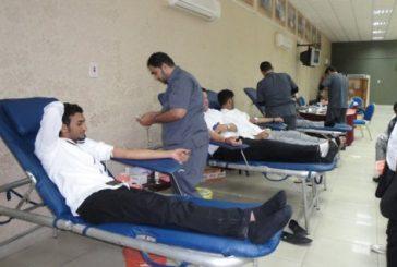 17780 متبرع بالدم في القصيم العام الماضي 2016م