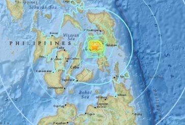 زلزال بقوة 6.5 درجات يضرب وسط الفيليبين