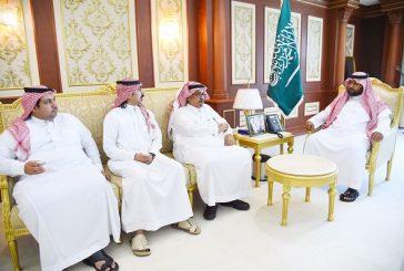 نائب أمير منطقة جازان يستقبل رابطة إعلاميي الجبيل