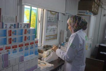 صيدلية العيادات التخصصية السعودية تصرف 2058 وصفة طبية خلال الأسبوع 237 للاشقاء السوريين في مخيم الزعري