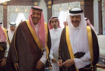 الأمير د. حسام بن سعود يستقبل سمو رئيس الهيئة العامة للسياحة والتراث الوطني