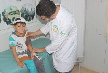 3464 حالة طبية تعاملت معها العيادات التخصصية السعودية في مخيم الزعتري خلال الأسبوع 235