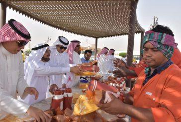 """شركة الصحراء للبتروكيماويات تطلق حملة """"شكرا لكم """" في الجبيل"""