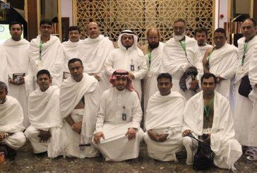 وصول 1279 حاجاً من ضيوف خادم الحرمين الشريفين إلى مكة المكرمة