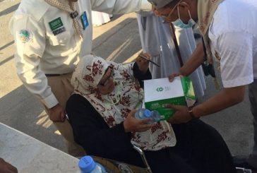 كراسي متحركة لخدمة ضيوف الرحمن من كبار السن بمدينة الحجاج في منفذ حالة عمار بتبوك
