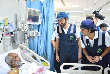 وزير الصحة يتفقد مستشفيات مشعر منى ومستشفى القوات المسلحة
