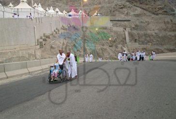 """بالصور..""""تغطيات"""" توثق توافد حجاج بيت الله الحرام  إلى """"منى"""" لقضاء يوم التروية"""