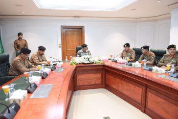 """""""الحربي"""" يرأس الاجتماعات التنظيمية لقوات أمن الحج"""