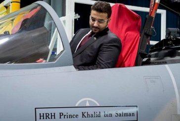 """الأمير خالد بن سلمان يتفقد مقاتلات """"F15"""" الجديدة في واشنطن قبل وصولها للمملكة"""