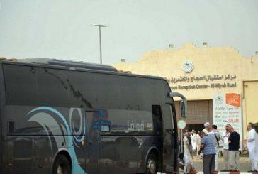 بالصور: تواصل توافد ضيوف الرحمن على المدينة المنورة