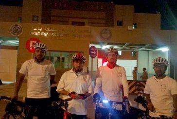 """دراجو """" جازان رايدرز """" و """" الباحة """" يجوبون الشوارع للتوعية بالصحة بالنفسيه"""