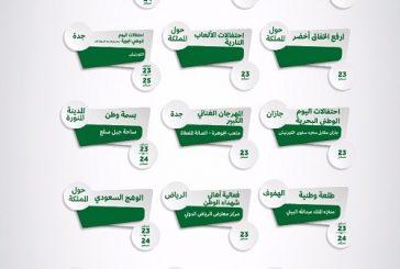 هيئة الترفيه ترسم فرحة اليوم الوطني حول المملكة.. بـ 27 فعالية