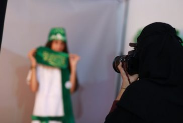 استديو تصوير نسائي يجذب زوار مهرجان صيف الشرقية