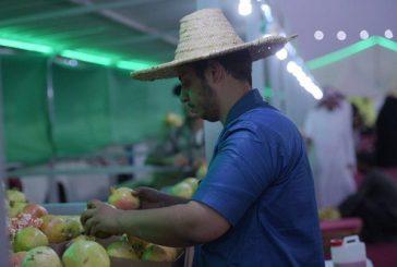 مبيعات مهرجان الرمان تتجاوز ثلاث مليون ريال