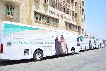 """""""الصحة"""" تمكن حاج اماراتي تعرض لجلطة بالدماغ من إكمال حجه"""