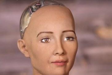 الروبوت صوفيا الأشهر عالميًّا تحصل على الجنسية السعودية