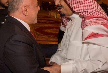 خادم الحرمين يستقبل دولة رئيس وزراء جمهورية العراق