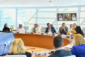 وزير الثقافة والإعلام يستقبل رئيسة بعثة العلاقات مع شبه الجزيرة العربية بالبرلمان الأوروبي
