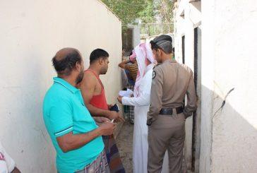 المدينة المنورة.. القبض على (4476) مخالفاً لنظام الإقامة والعمل
