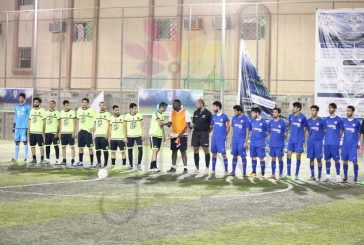 ختام دوري المجموعات في بطولة العقال العصري بالجبيل