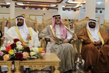محافظ بني حسن يشرف حفل تكريم  اللواء ركن بحري سعيد بن محمد الزهراني