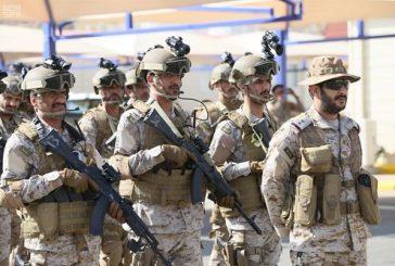 """بالصور.. القوات السعودية والفرنسية تواصل تمرين """"الريك 2"""" للتدريب على العمليات الجبلية"""
