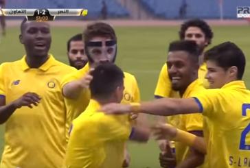 بالفيديو.. النصر يكسب التعاون بهدفين مقابل هدف