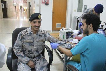حرس الحدود بالشرقية تنظم حملة للتبرع بالدم لمنسوبيها