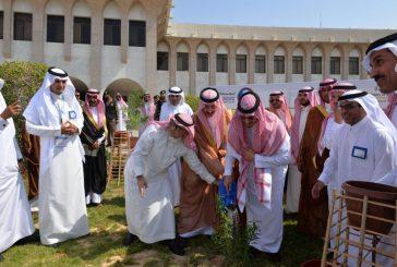 مليون شجرة بمنتزة الاحساء الوطني يوم الأربعاء ٥ صفر ١٤٣٩هـ