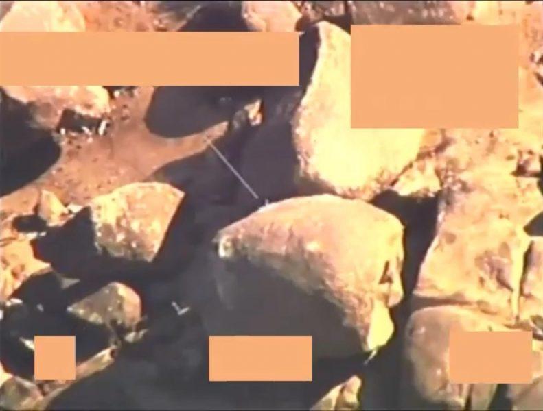 بالفيديو.. التحالف يوثق تستهدف عناصر ميليشيا الحوثي قرب حدود السعودية