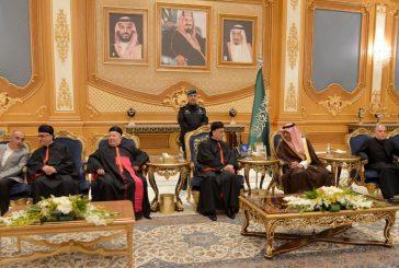 غبطة البطريرك يصل إلى الرياض