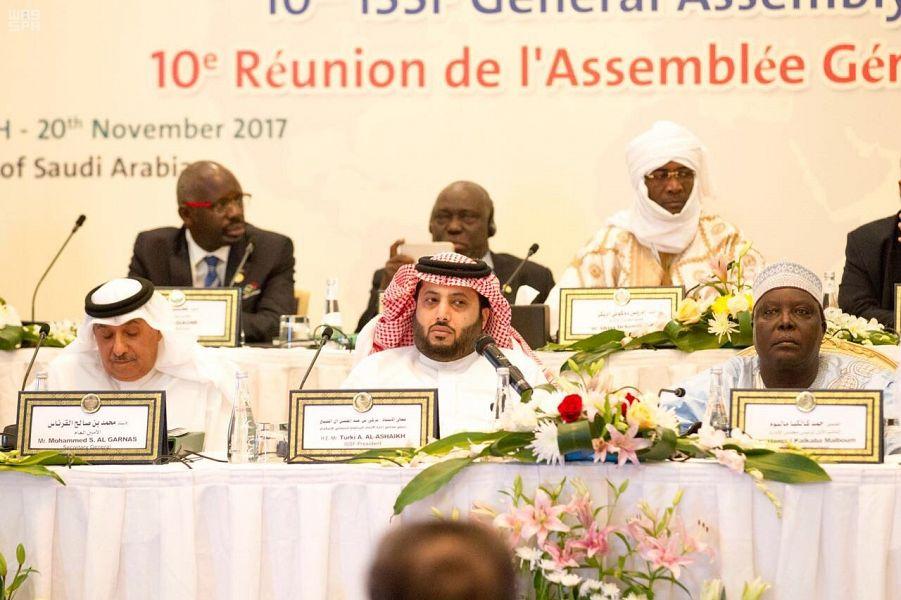 آل الشيخ رئيساً للاتحاد الرياضي للتضامن الإسلامي