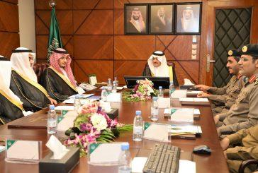 الأمير سعود بن نايف يرأس اجتماع لجنة الدفاع المدني الرئيسية