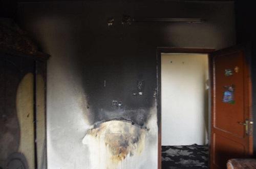 أنقذ ٣ أطفال .. مدني سكاكا يسيطر على حريق شقة بحي الشلهوب